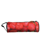 MIPAC MI-PAC PENCIL CASE STRAWBERRY RED 740561-313 unisex tolltartó