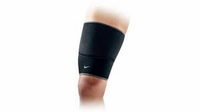 NIKE THIGH SLEEVE M BLACK DARK CHARCOAL 9.337.022.020 unisex edzéssegítő