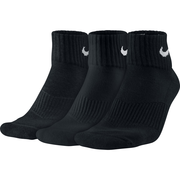 Nike Unisex Nike Performance Cushion Quarter Training Sock Sx4703-001 Unisex Zokni