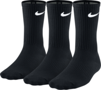 Nike Unisex Nike Performance Lightweight Crew Training Sock Sx4704-001 Unisex Zokni