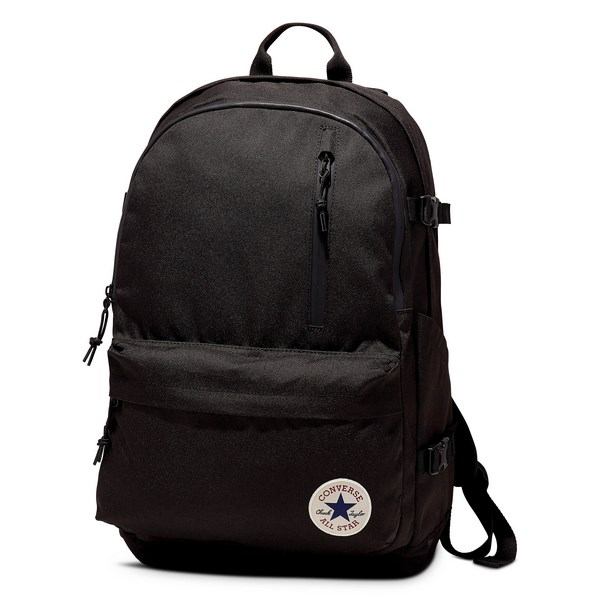 Converse Straight Edge Backpack Black 10007784-A01-001 Unisex Hátizsák