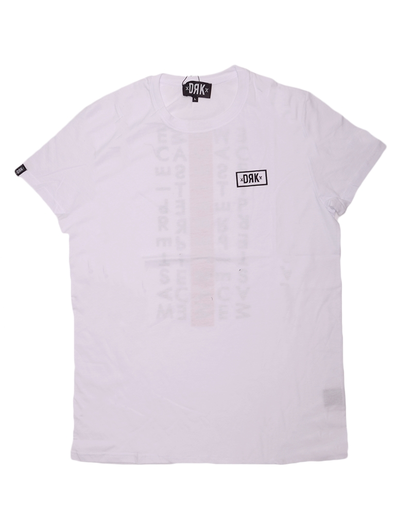 DORKO DRK CIRCLE T-SHIRT MEN WHITE DTBTS17M1200100 Férfi póló