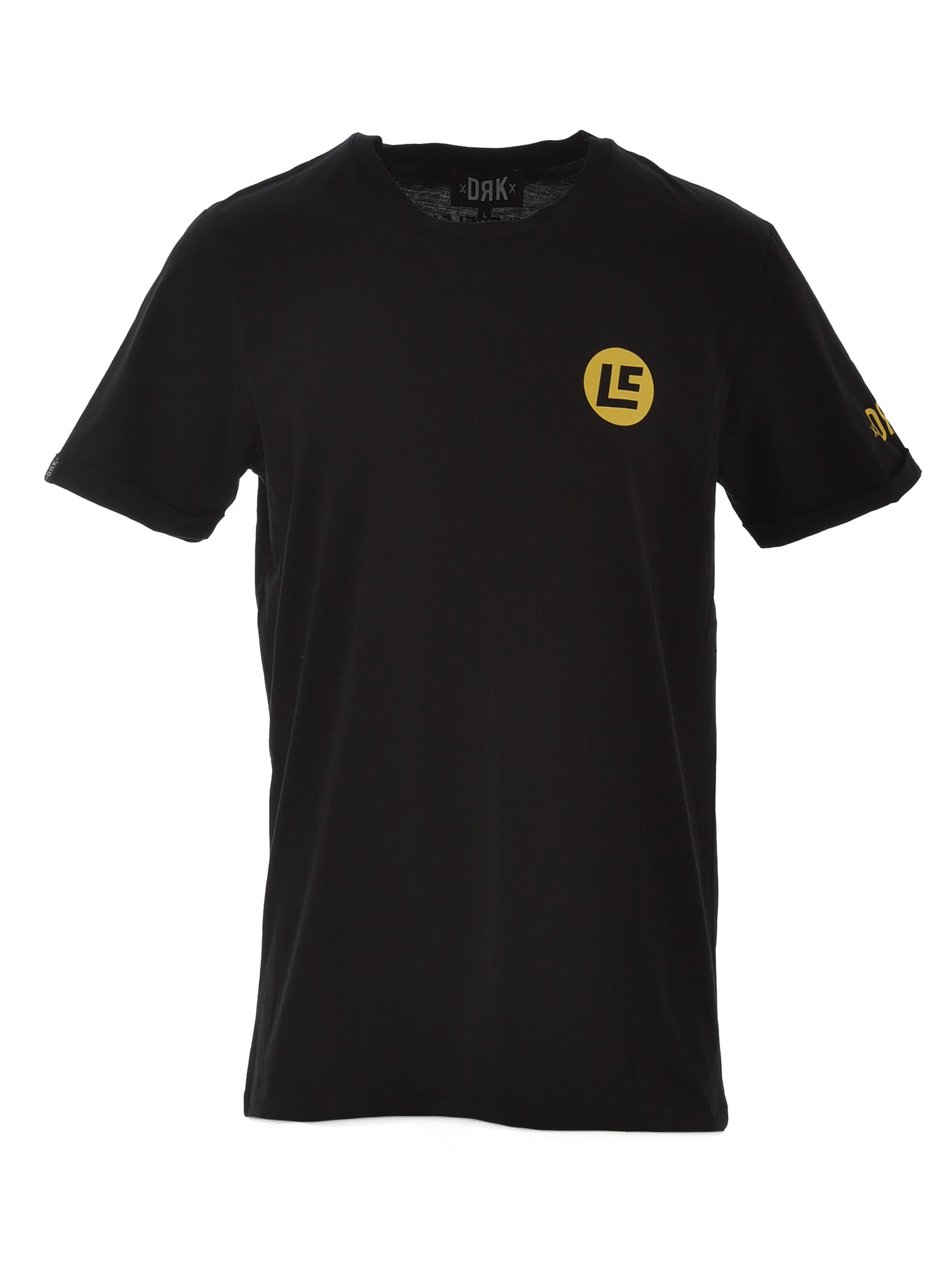 Dorko Next Level Men Small Logo T-shirt Yellow Dtnly______0001 Férfi Póló