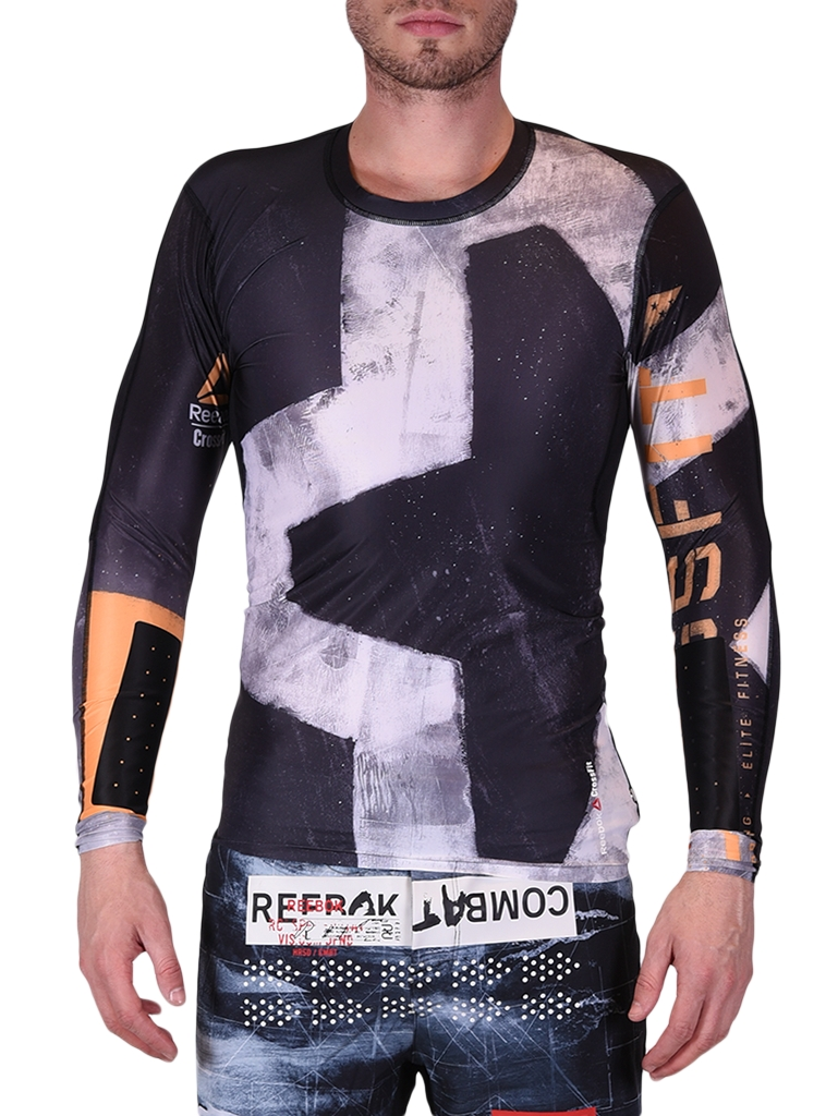 REEBOK CROSSFIT ENGINEERED LS COMP TOP B45167 Férfi póló