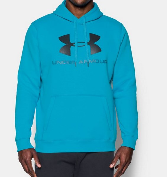 UNDER ARMOUR RIVAL FITTED GRAPHIC HOODIE 1302294-929 férfi pulóver
