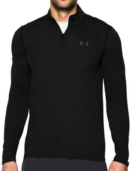 Under Armour Threadborne Fitted 1 4 Zip 1290270-001 Férfi Hosszú Ujjú Póló