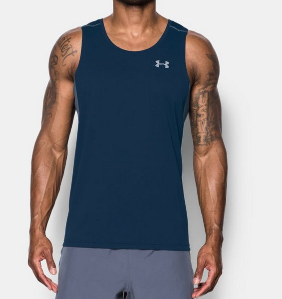 UNDER ARMOUR TRANSPORT SINGLET 1289321-408 férfi atléta