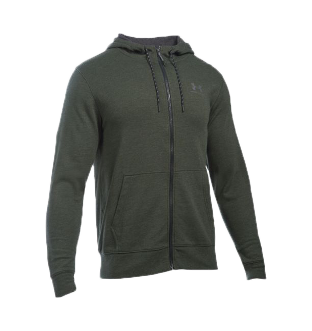 UNDER ARMOUR TRIBLEND FULL ZIP HOODIE 1284501-357 férfi zip pulóver