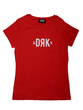 Dorko Drk Logo T-shirt Women Red Dtbts17w1900600 Női Póló