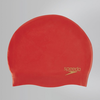 Speedo Moulded Silc Cap AF Red 8-70984B362 Női Úszósapka