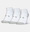 UNDER ARMOUR HEATGEAR TECH NO SHOW-WHT 1312321-100 unisex zokni
