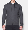 Under Armour Rival Fitted Full Zip 1302290-090 Férfi Zip Pulóver
