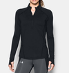 Under Armour Run True Half Zip 1299737-001 Női Hosszú Ujjú Póló