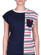 Emporio Armani Womans Knit T-shirtwheat 2838716P6546935 Női Póló