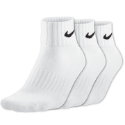 Nike 3PPK Value Cotton Quarter Sx4926-101 Unisex Zokni