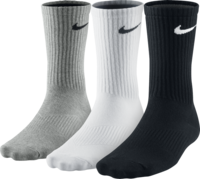 Nike Unisex Nike Performance Lightweight Crew Training Sock Sx4704-901 Unisex Zokni