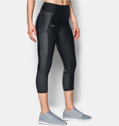 Under Armour Fly BY Printed Capri 1297934-012 Női 3/4-es Nadrág