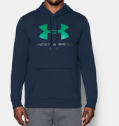 Under Armour Rival Fitted Graphic Hoodie 1302294-410 Férfi Pulóver