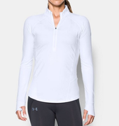 Under Armour Run True Half Zip 1299737-100 Női Hosszú Ujjú Póló