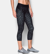 Under Armour UA HG Armour Printed Capri 1297906-008 Női 3/4-es Nadrág