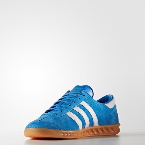 bcaa6b3ad3 Adidas Hamburg S76697 Férfi Utcai Cipő | Utcai cipő
