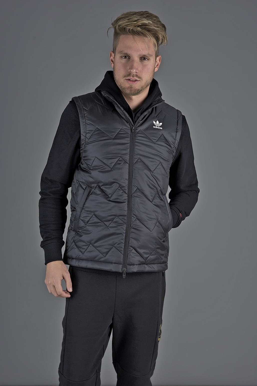 aa599260ee Adidas Originals Sst Puffy Vest Dh5028 Férfi Mellény | Mellény