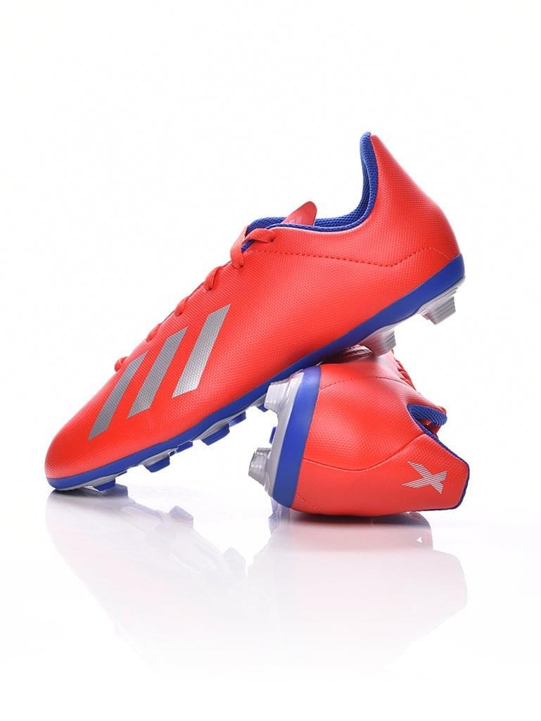 Adidas Performance Kamasz fiú Foci cipő X 18.4 FxG J piros