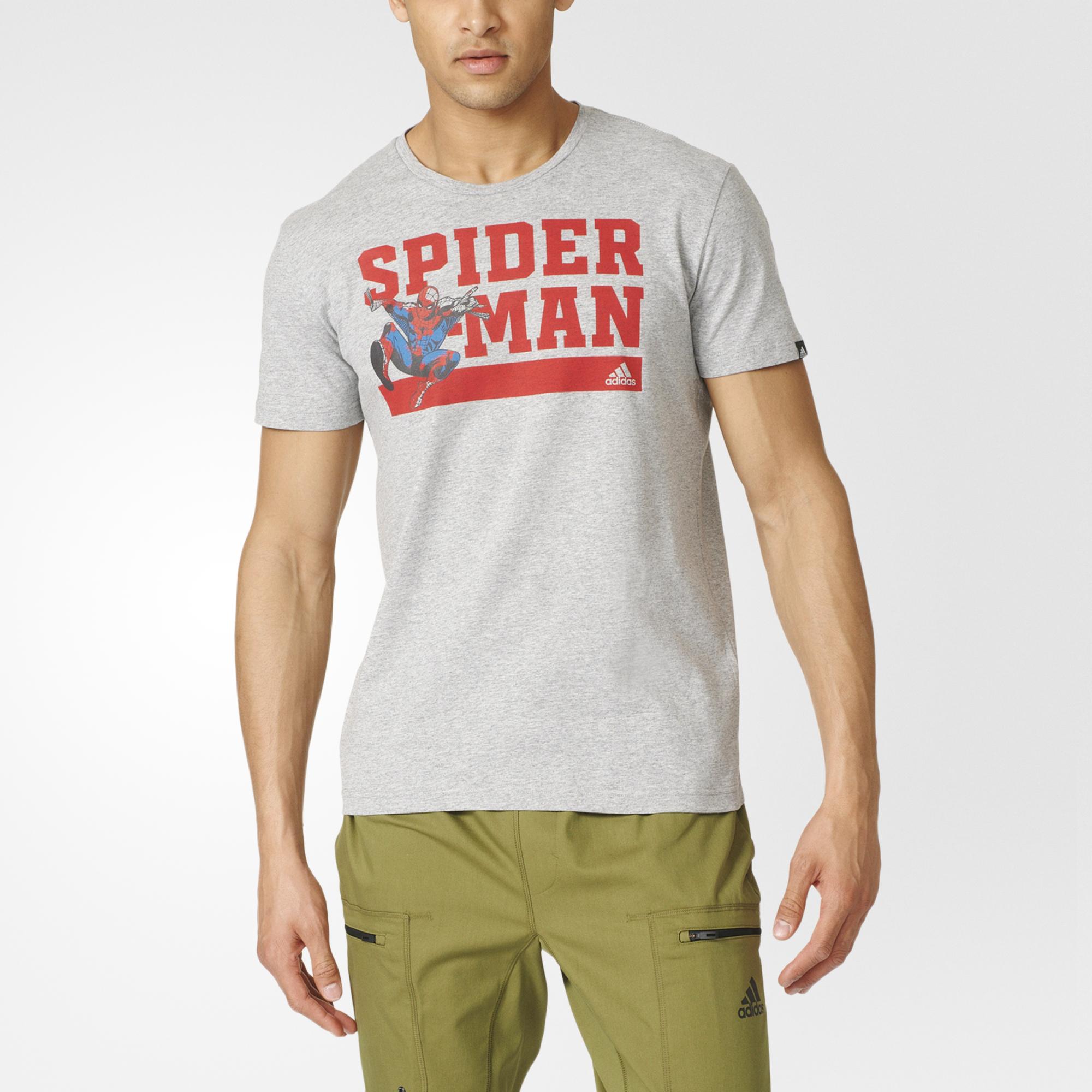 8536d67710 Adidas Spider Man Ay7188 Férfi Póló | Póló