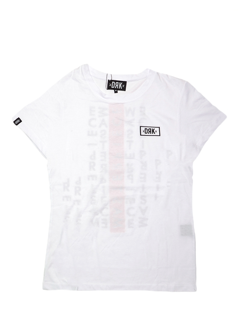 Dorko Drk Circle T-shirt Women White Dtbts17w1700100 Női Póló