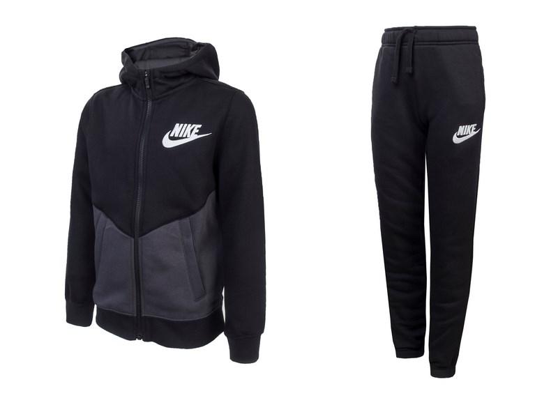 d8c0d21c45 Nike Boys Nike Sportswear Track Suit 856205-010 Fiú Melegítő .