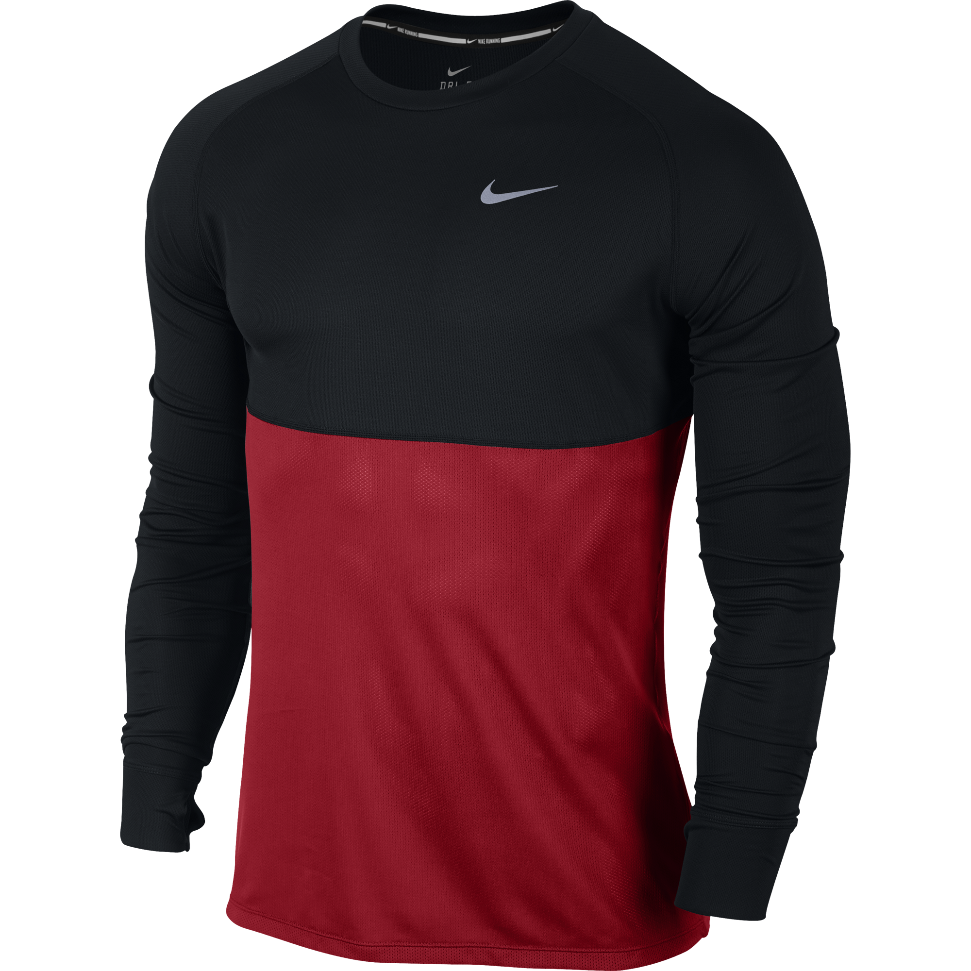 297eb2b8b5 Nike Dri-fit Racer LS 683574-013 Férfi Hosszú Ujjú Póló   Hosszú ...