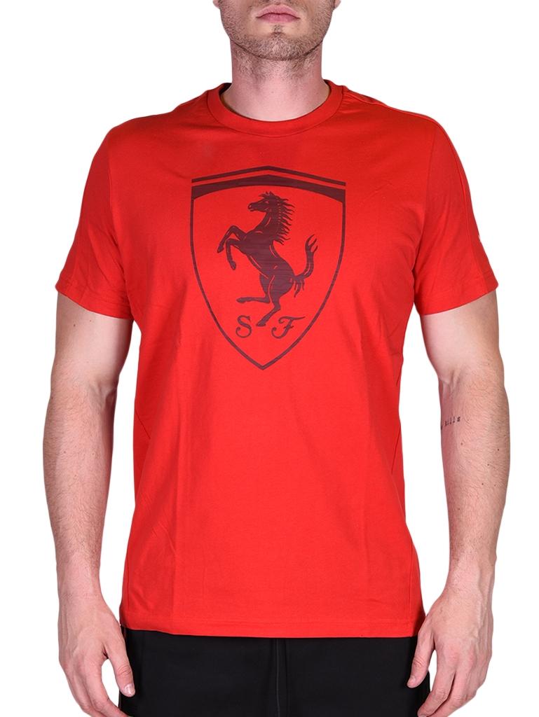 c8c770024d Puma Ferrari Big Shield Tee 572805_____0002 Férfi Póló | Póló