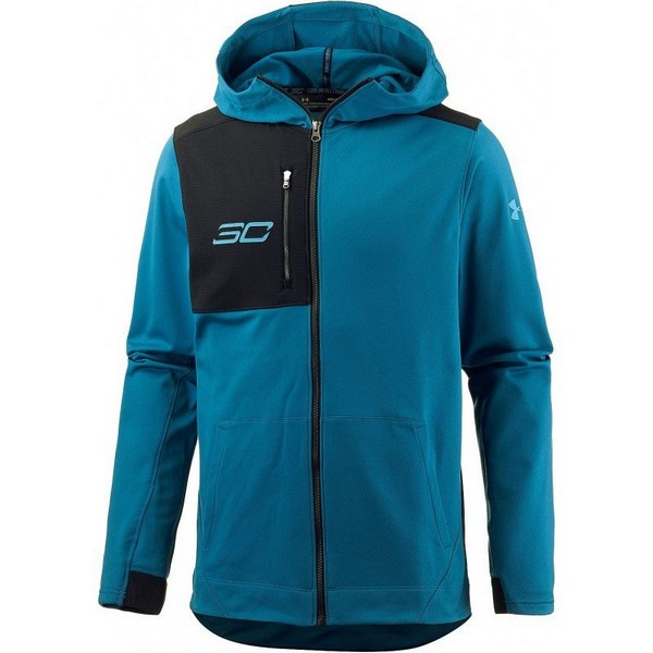 Under Armour Sc30 Perf Warm UP Jacket 1298372-953 Férfi Zip Pulóver