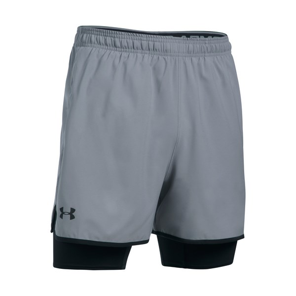 UNDER ARMOUR UA QUALIFIER 2-IN-1 SHORT 1289625-035 férfi